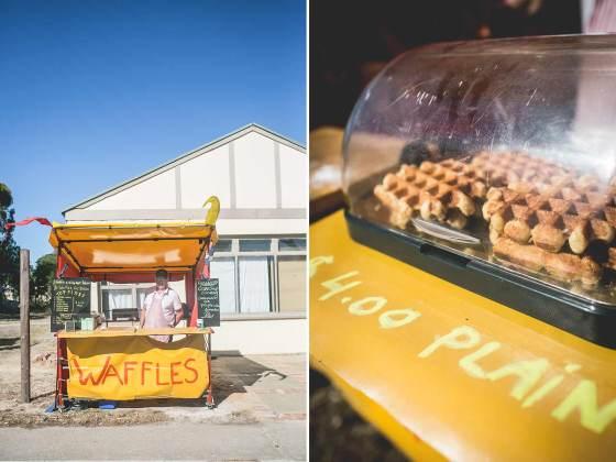 Dutch Rachid making waffles in Australia | un-fold-ed.com